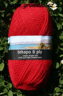 Tekapo - 008 (Traditional red)