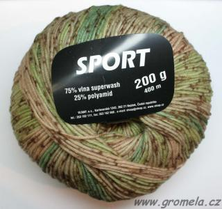 Sport - 10294 (tyrkysžlutá color)